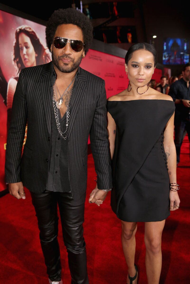 Ella es la guapa hija del cantante Lenny Kravitz.