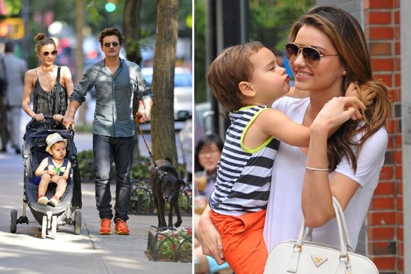 La familia era captada frecuentemente caminando por las calles de Nueva York con todo y su mascota.