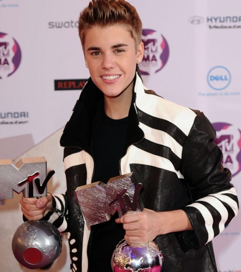 Justin Bieber se llevó dos premios.