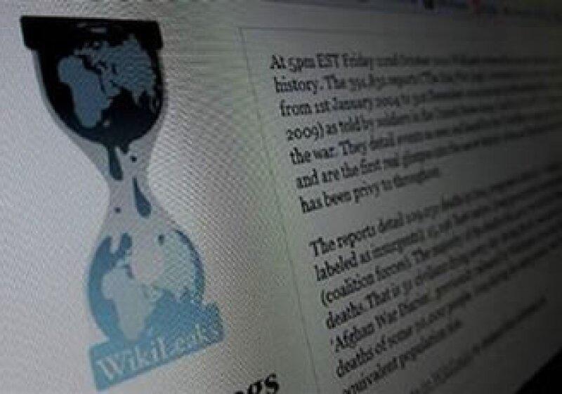 WikiLeaks enfrenta presiones por parte del Gobierno de EU tras haber dado a conocer información privilegiada. (Reuters)