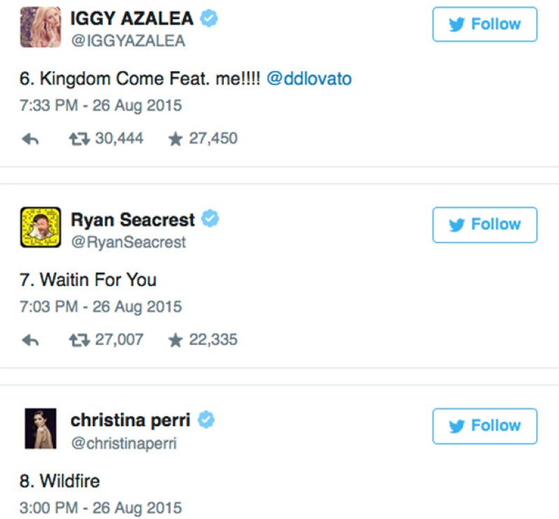 Habrá un dueto el cual es esperado por miles de seguidores y será con Iggy Azalea.