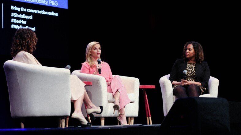 Reese Witherspoon en She is Equal Summit