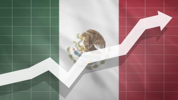 Inflación mexico  grafica