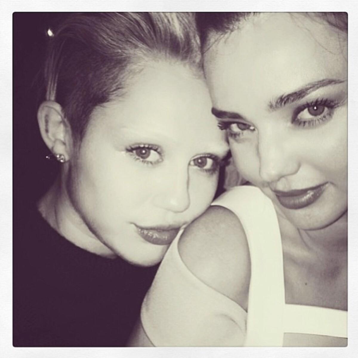 ¿Dónde quedaron las cejas de Miley Cyrus?
