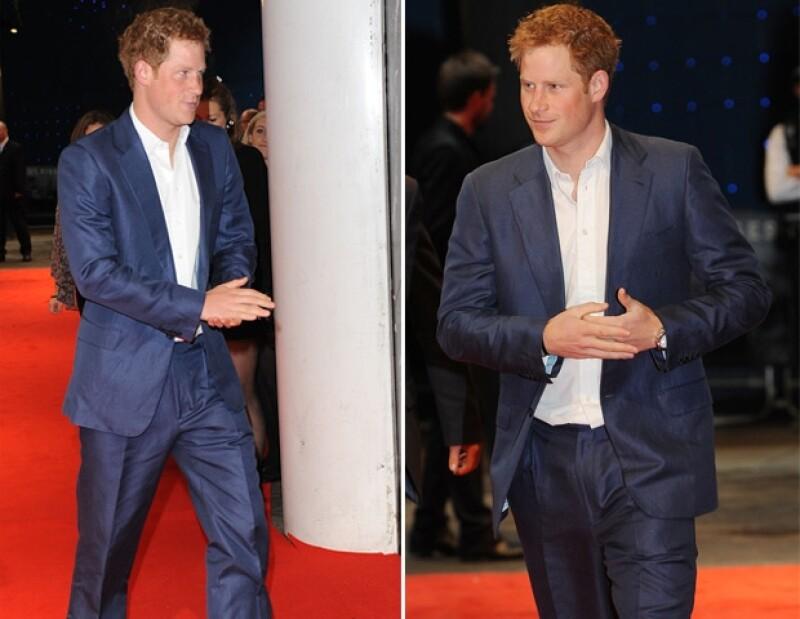 Anoche se llevó a cabo la alfombra roja de la premiere de Batman en Londres, a la cual acudieron la realeza; uno de ellos disfrutó el after party hasta la madrugada.