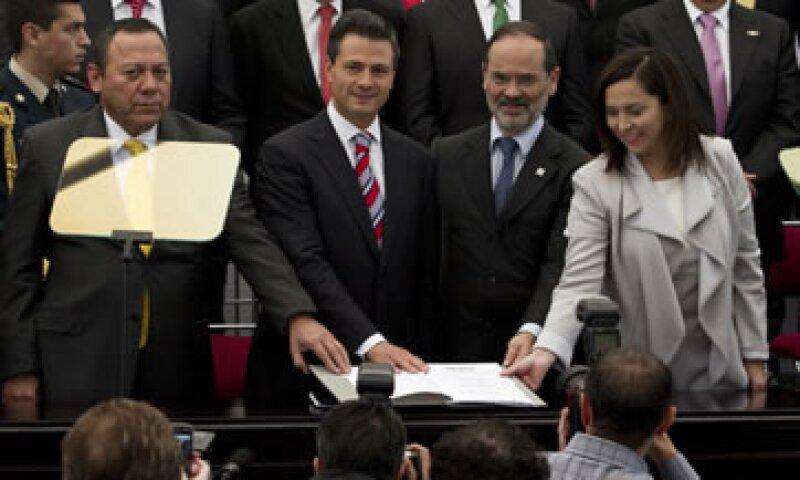 El Gobierno de Enrique Peña Nieto decidió suspender de manera temporal todas las actividades públicas del Pacto por México. (Foto: Notimex)