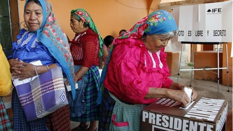 casillas eleccion 2012 Oaxaca