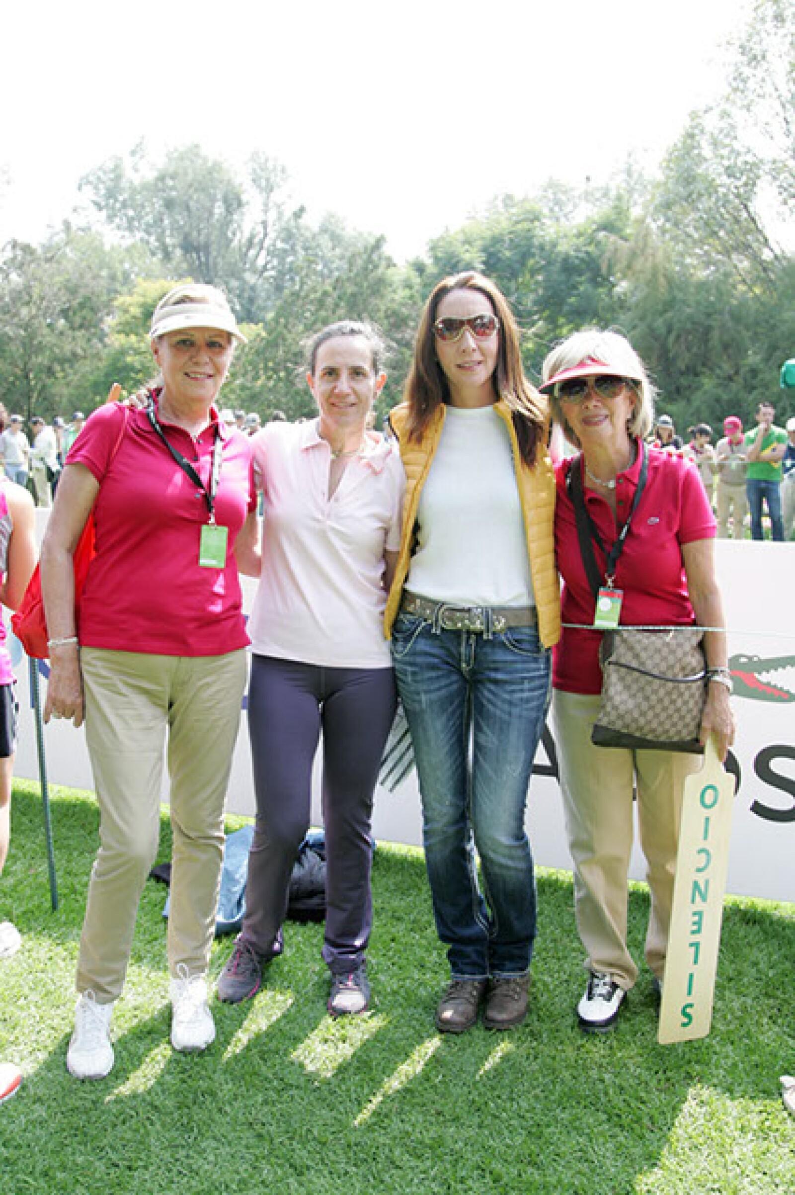 Laura Mariscal,Ana Ordorica,Edmée Manning y Marta Ibarrola.