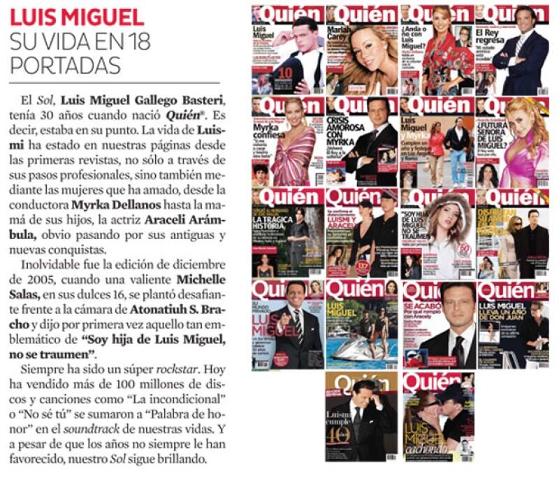 Luis Miguel es de nuestros consentidos.