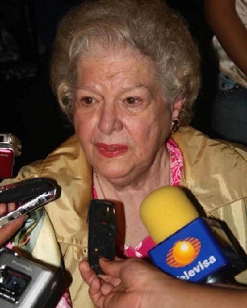 Carmen Montejo perdió la vida hoy a los 87 años.