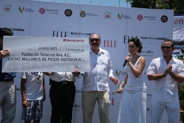 Banorte donó ocho millones de pesos para continuar con el apoyo a los lugareños.
