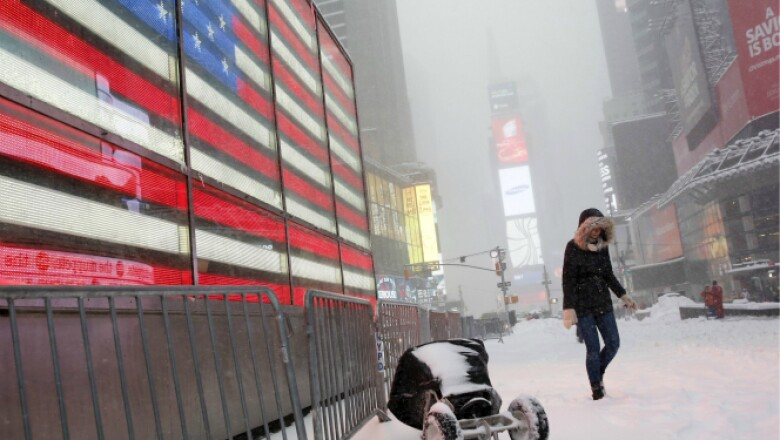 Este sábado la tormenta pegó en el estado, la principal ciudad se mantiene en alerta