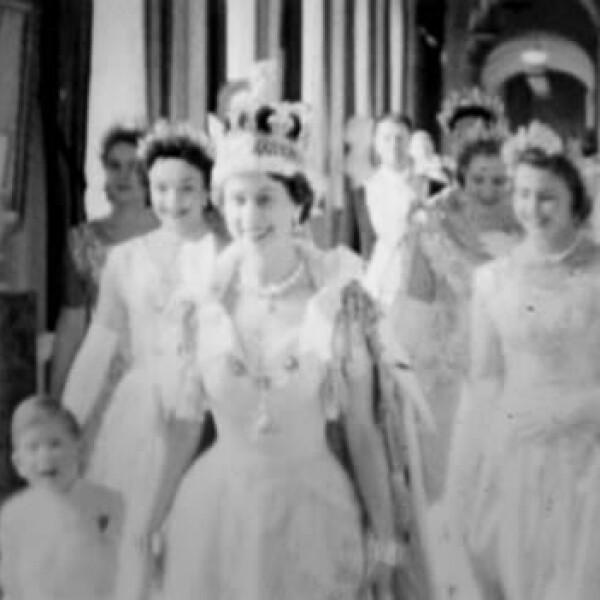 coronacion de la reina isabel
