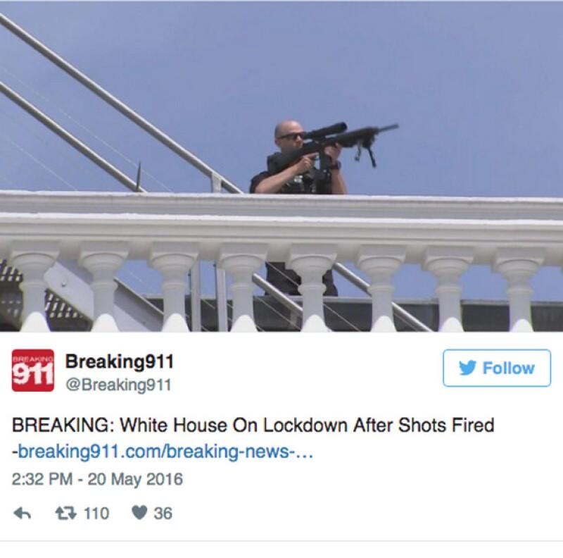 La tarde de este viernes se suscitó una balacera cerca de la casa de Barack Obama, en la que hay un detenido que se encuentra en el hospital en estado crítico.