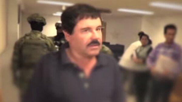 El líder del Cártel de Sinaloa fue detenido el pasado 8 de enero. (Foto: PGR Youtube/ Cortesía)