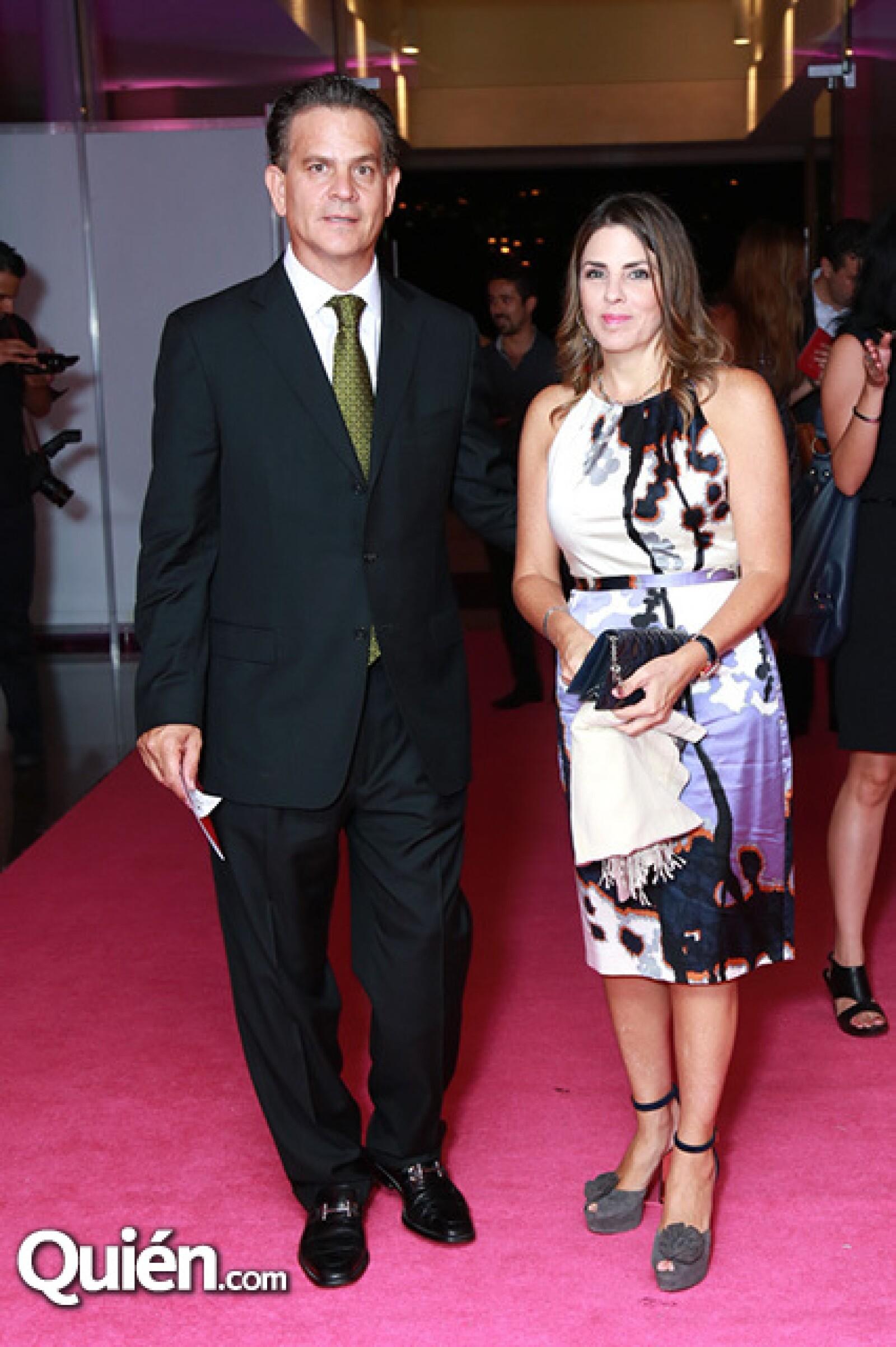Arturo Diez y Alejandra Osuna de Diez