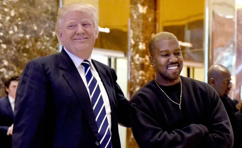 Trump y Kanye