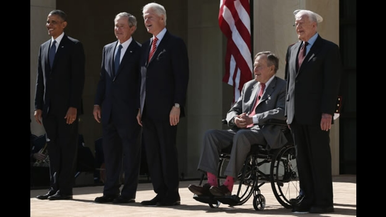 presidentes de EU juntos 1