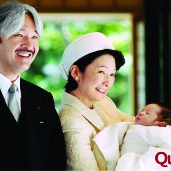 Príncipe Akishino de Japón, Princesa Kiko de Japón, Principe Hisahito de Japón