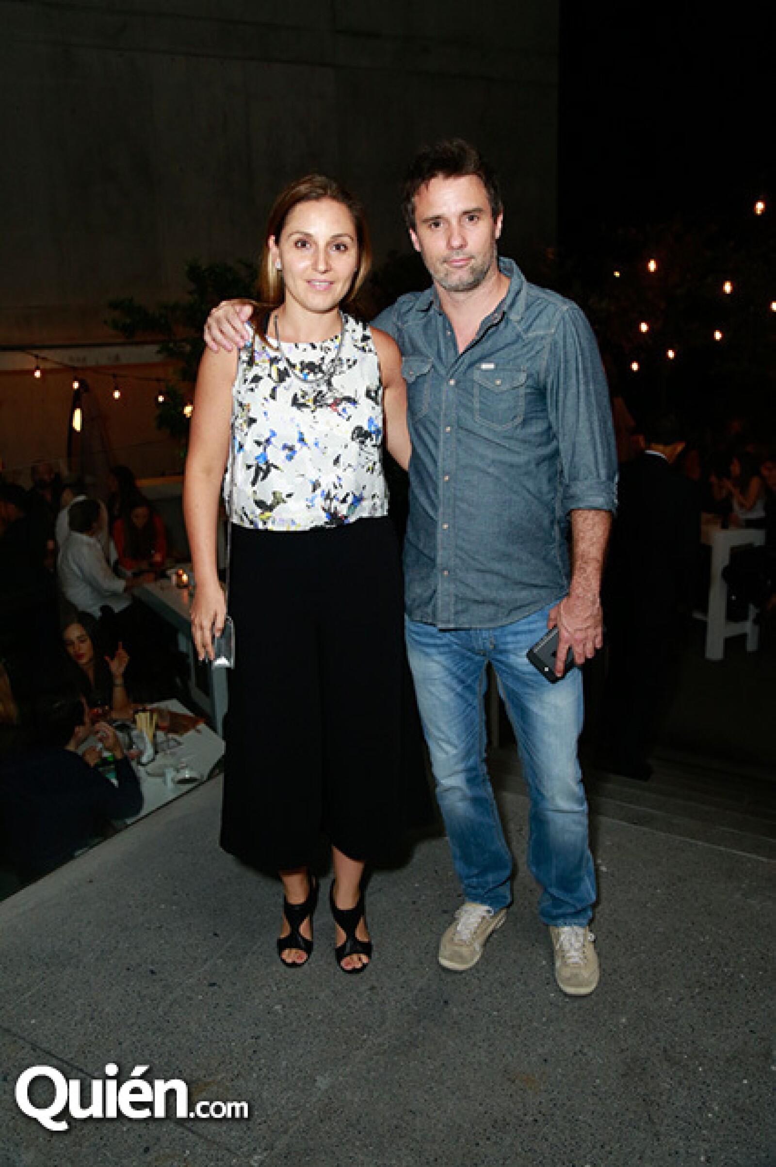 Ana Vidaurri y Pablo Leva