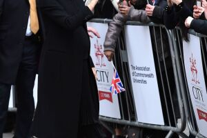 Meghan Duchess of Sussex visit to the Association of Commonwealth Universities, London, UK - 31 Jan 2019