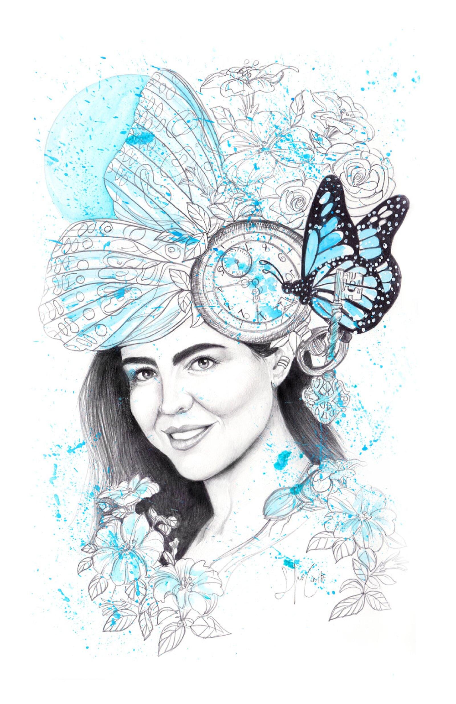 Litografías por Chanel y Sofía Castellanos