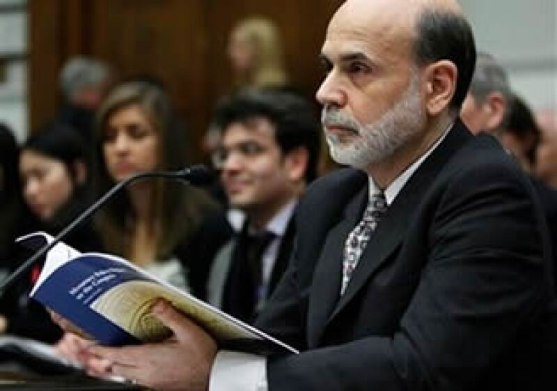 Ben Bernanke, presidente de la Reserva Federal, compareció ante el Congreso estadounidense. (Foto: AP)