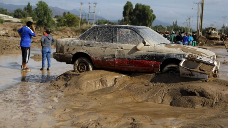 chile inundaciones
