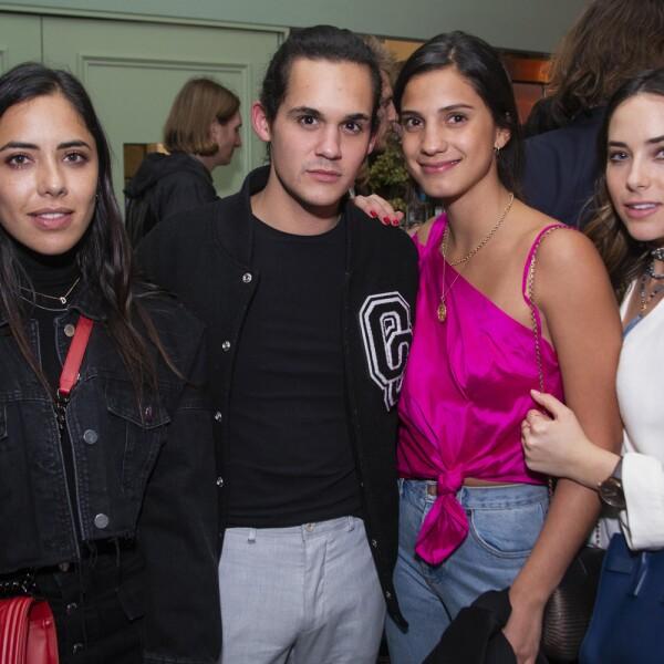 Daniela Cabrera,Andres Rotenhausler, Paula Ledezma, Mariel Molino