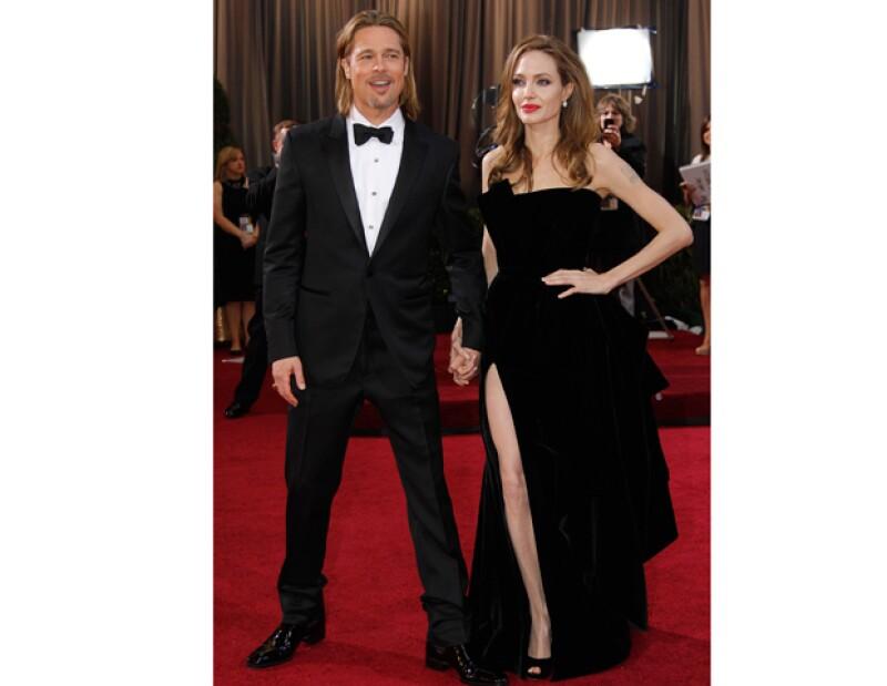 De acuerdo a un publicación estadounidense, la actriz tuvo un desliz al inicio de su relación con Brad Pitt mientras él se encontraba de viaje en Europa.