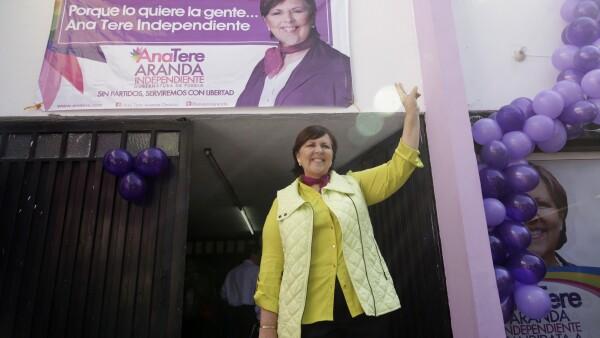 Ana Teresa Aranda buscará la destitución de todos los consejeros electorales quienes le negaron en un principio su candidatura.