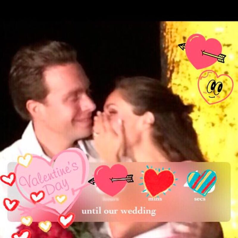 Tras haberse dado la noticia sobre su próximo matrimonio con el gobernador de Chiapas, Manuel Velasco, la actriz da más indicios sobre el esperado día.