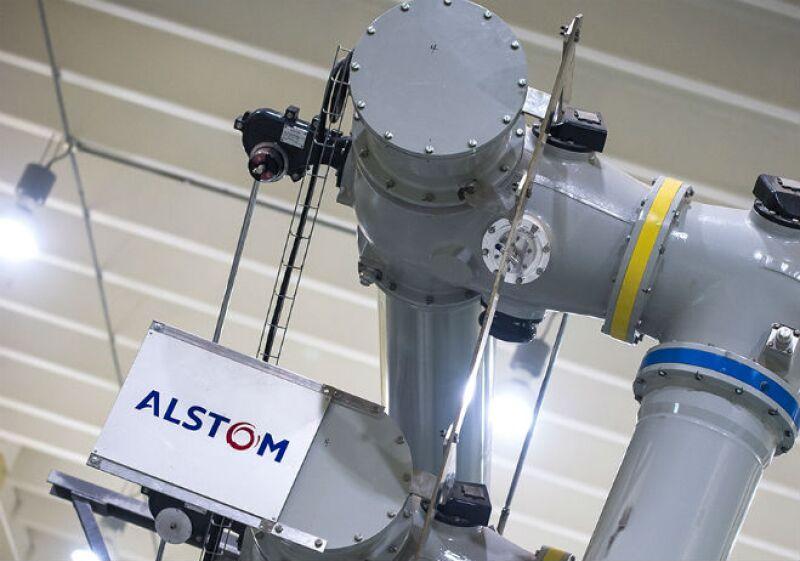 Subestación eléctrica Alstom