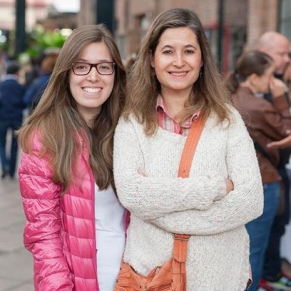 Natalia Padilla y Nuria Sadurni