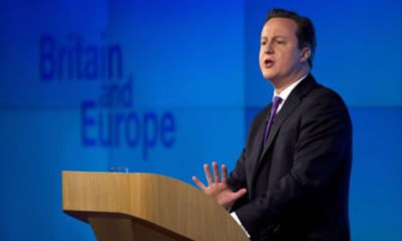 Cameron dijo que la desilusión pública con la Unión Europea está en máximos históricos. (Foto: AP)