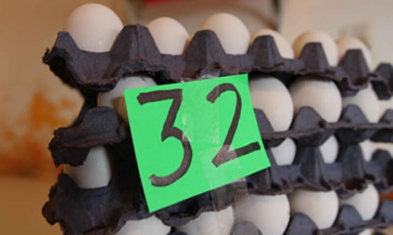 La Secretaría de Economía dijo que el huevo también ha aumentado por el regreso a clases.  (Foto: Notimex)