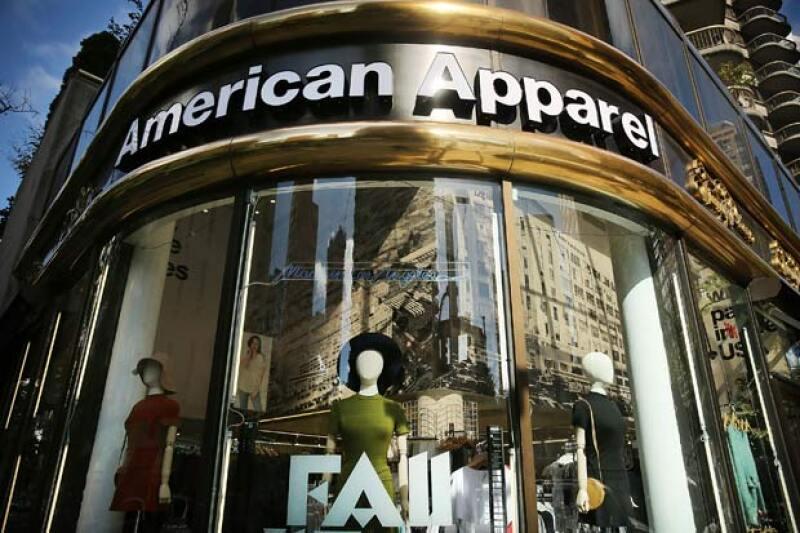 La marca estadounidense, American Apparel, oficialmente hoy se pronunció en quiebra.