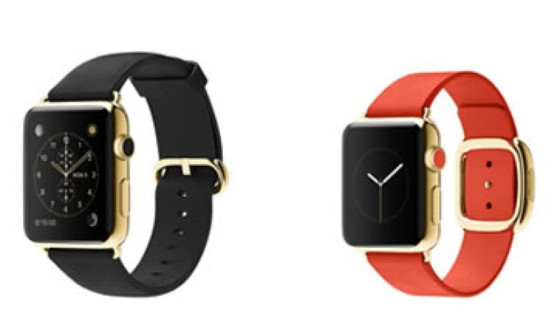 El Apple Watch de oro vale hasta 315,000 pesos en México. (Foto: Apple)