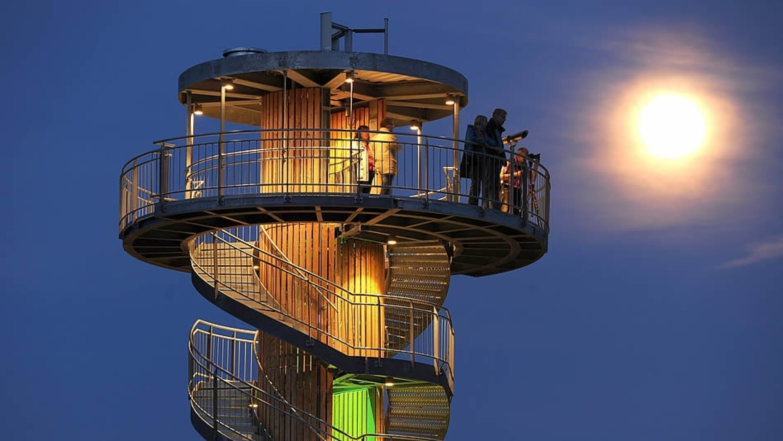 Visitantes Bad Zwischenahn Alemania super luna