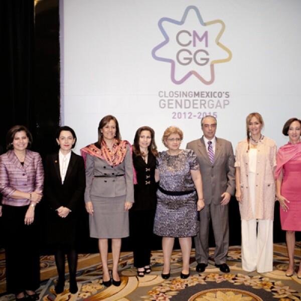 La iniciativa 'Closing México's Gender Gap' busca identificar e implementar medidas concretas para cerrar la brecha económica de género que existe en México en un 10%, en un plazo de tres años.