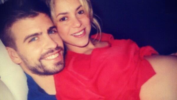 Las primeras facetas de Shakira antes de que naciera Milan.