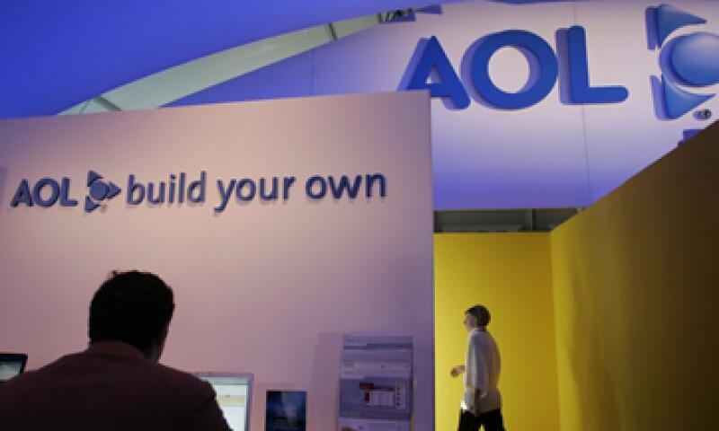 La directiva de AOL autorizó la recompra de acciones por 100 mdd. (Foto: AP)