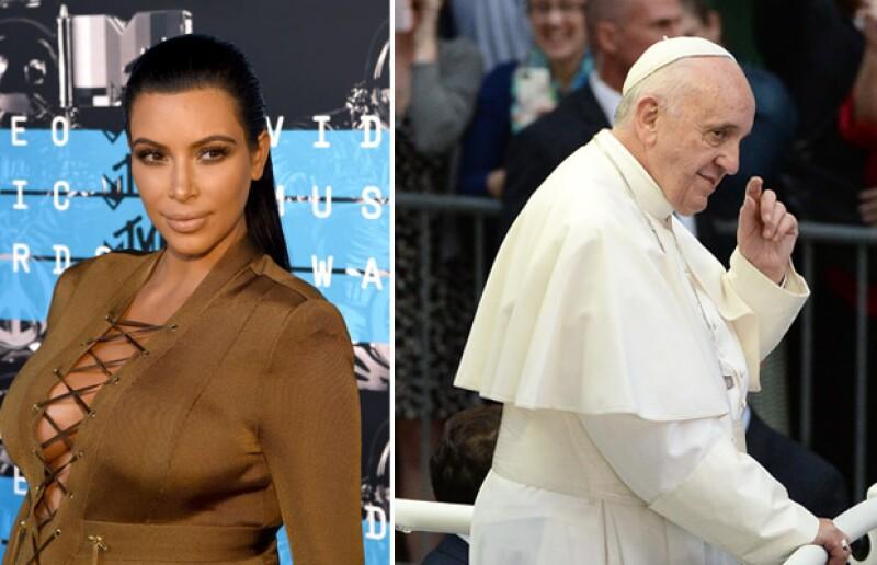 La estrella de reality encendió las redes respecto a un comentario que hizo sobre el Papa Francisco.