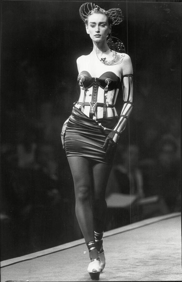 Jean Paul Gaultier Fashion In Paris.