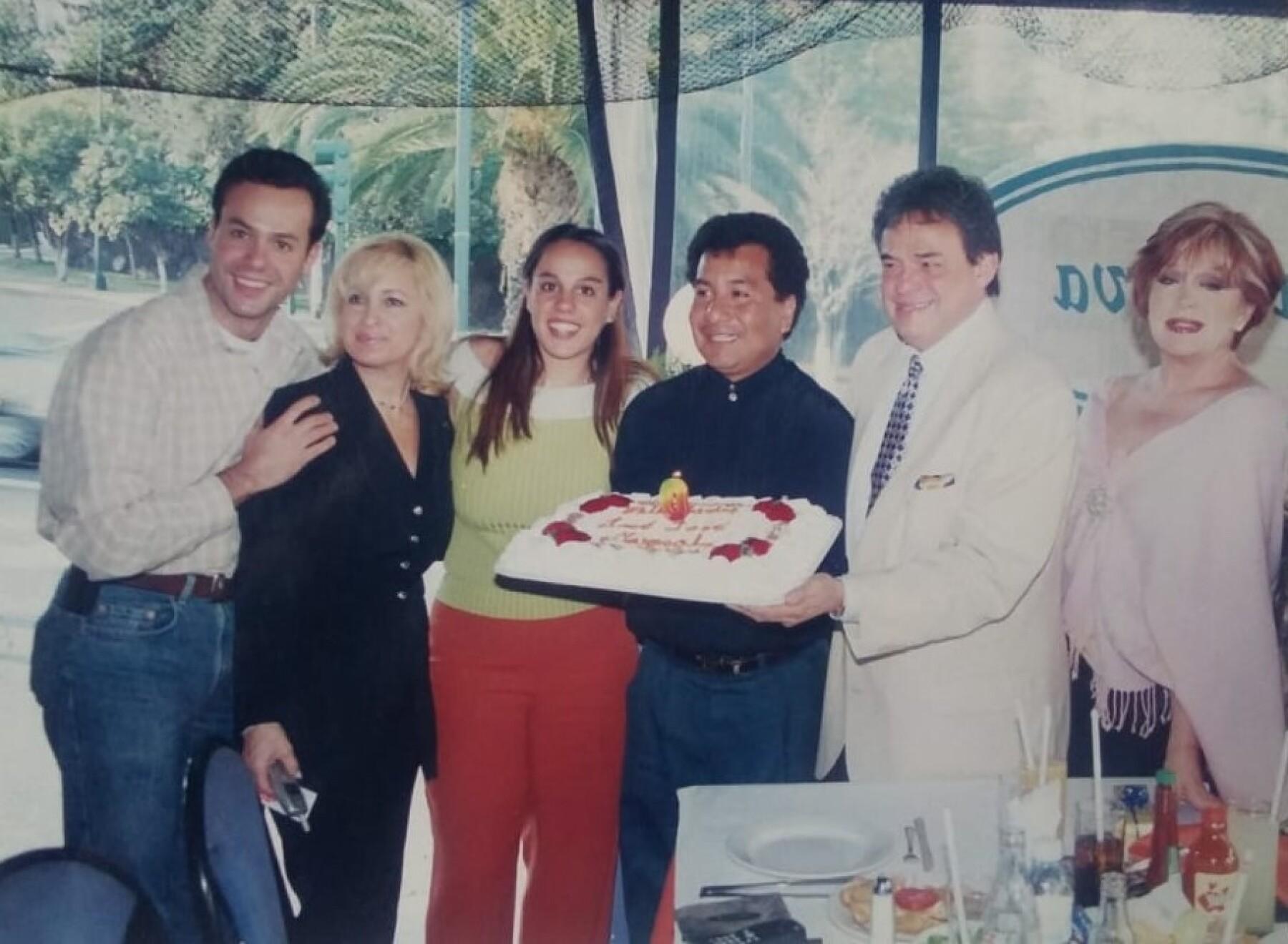 Fiesta de cumpleaños de José José