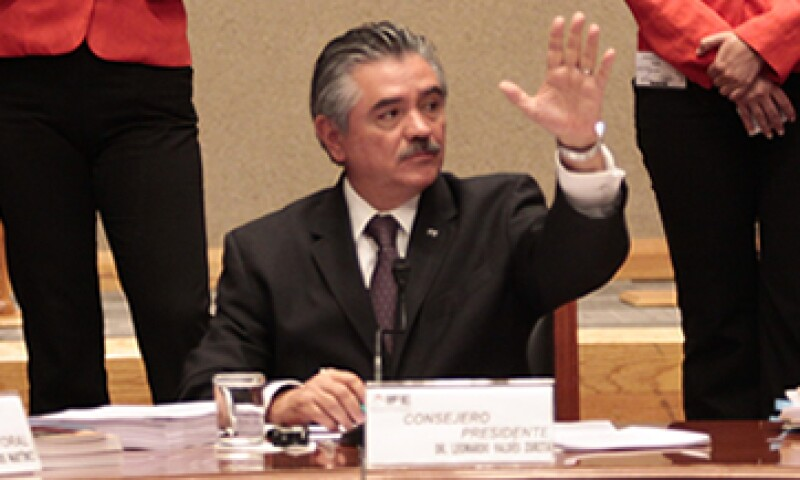 Valdés Zurita admitió que el IFE está obligado a ser cada vez más eficiente. (Foto: Cuartoscuro)