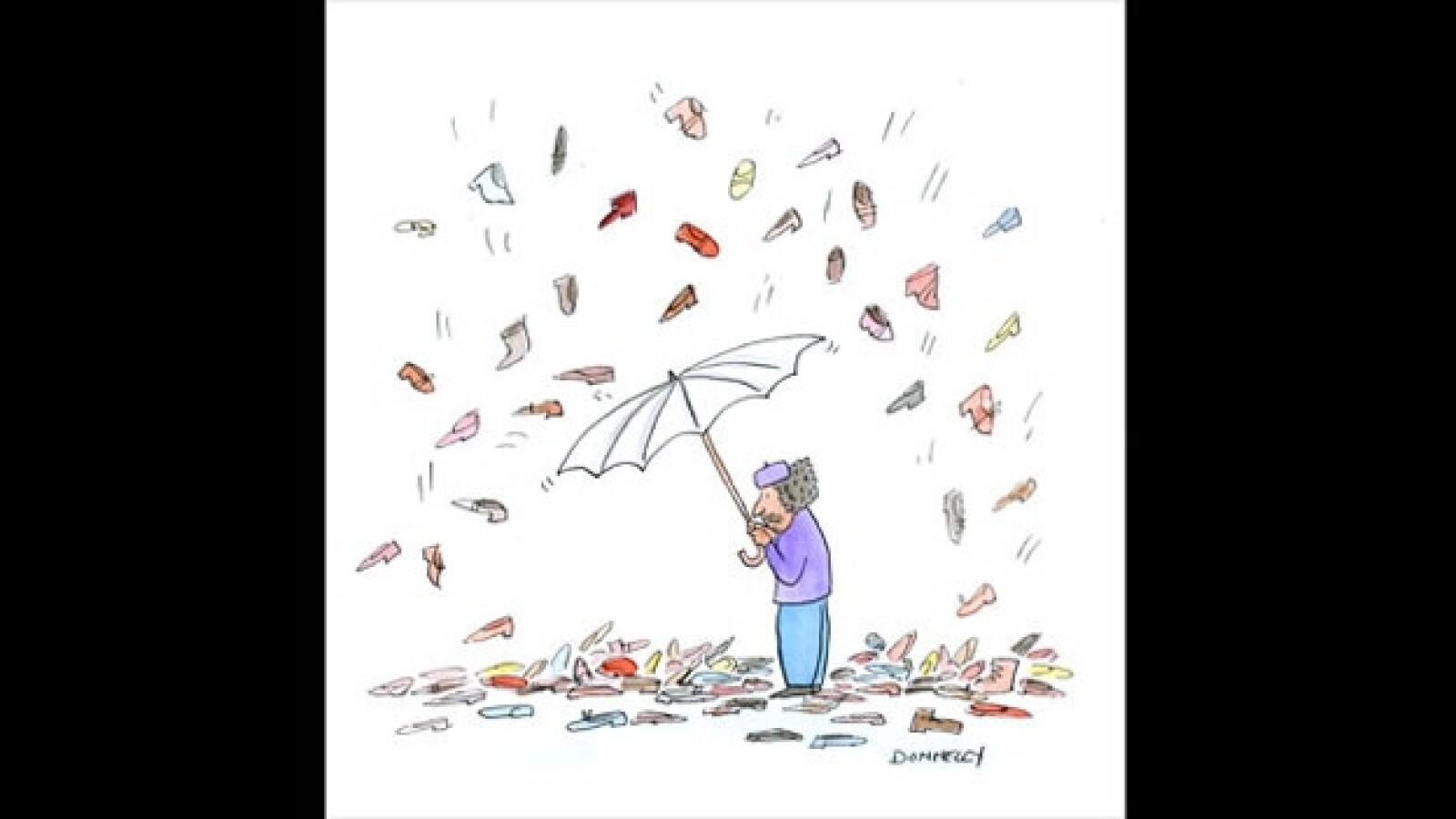 Gadhafi - caricatura - Liza Donnelly