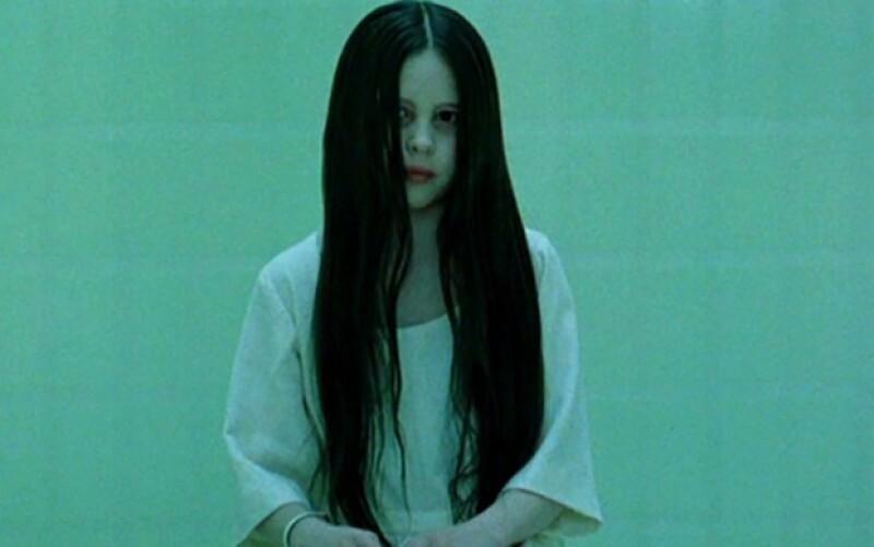 """Así se veía la actriz en la película """"The Ring"""", de 2002."""