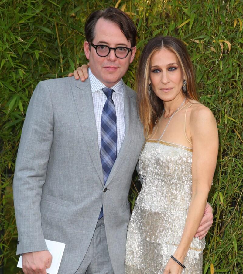 Sarah Jessica Parker y Matthew Broderick se casaron en 1997 y fue hasta 2002 cuando tuvieron a su primer hijo y en 2009 a sus gemelas.