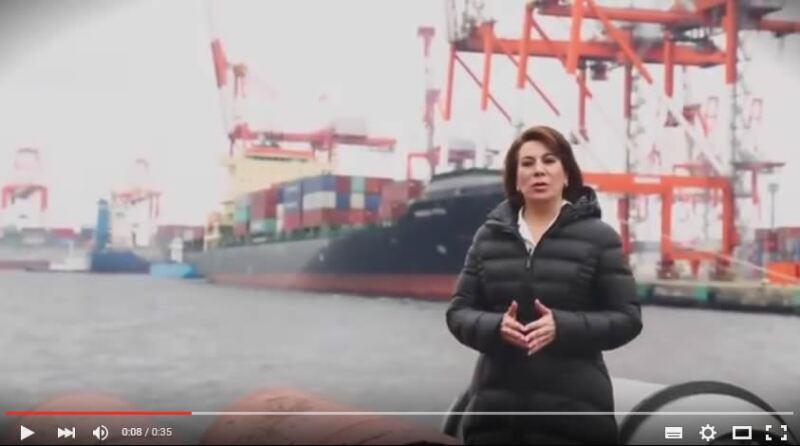 En el video, la abanderada del tricolor promete acuerdos con Japón para mejorar la calidad de vida de los trabajadores y sus familias.